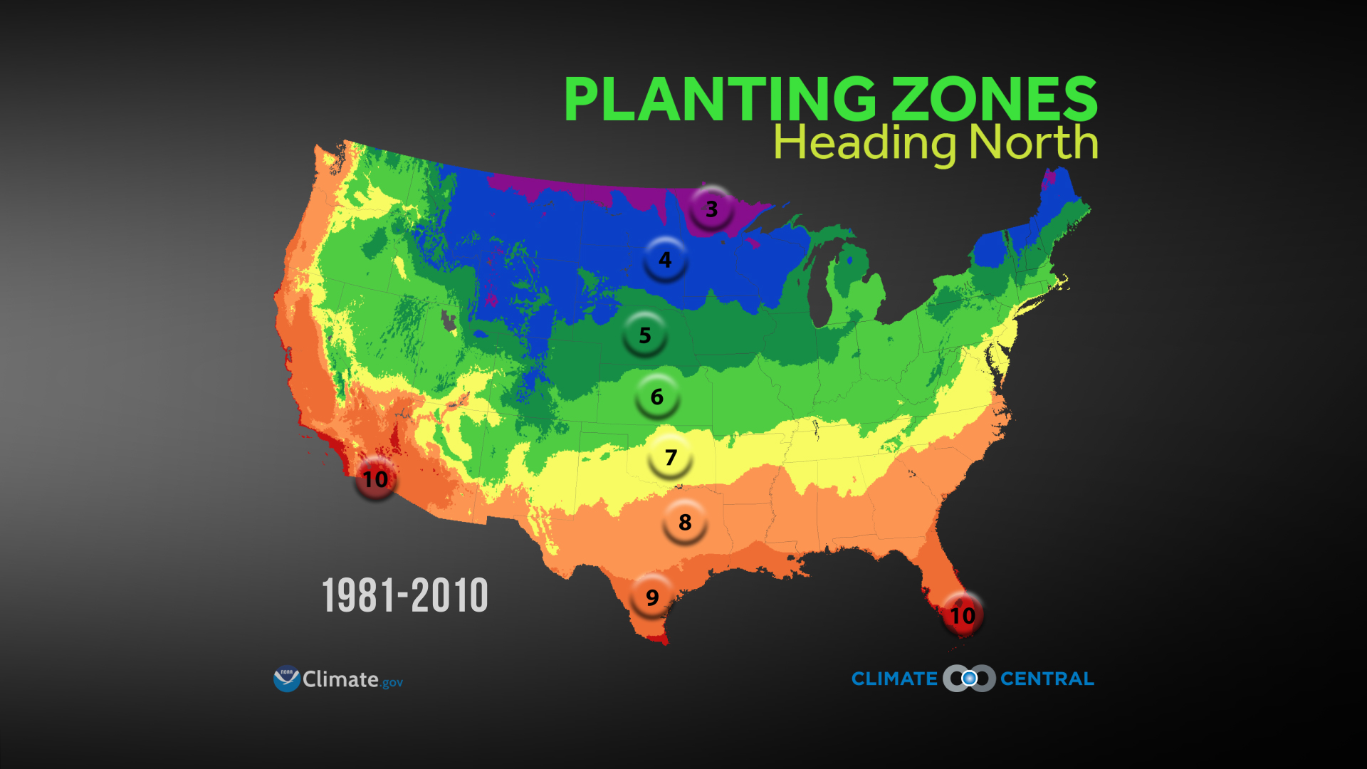 Click Here For A Noaa Study On How This Change Now And In The Future Will  Impact Gardens Across The Nation