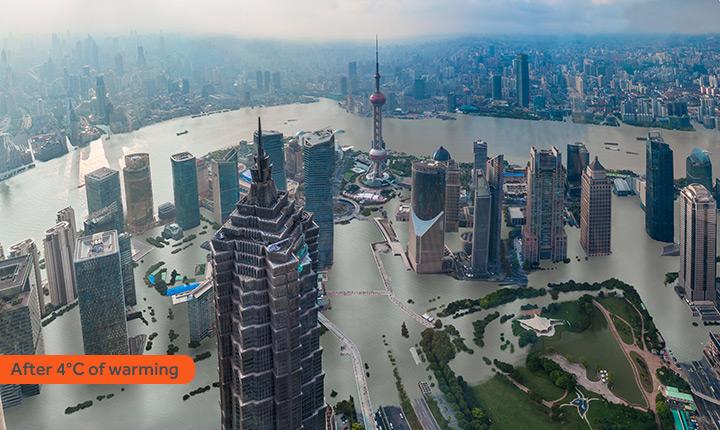 Ученые показали, как будут выглядеть самые крупные города, в случае глобального потепления