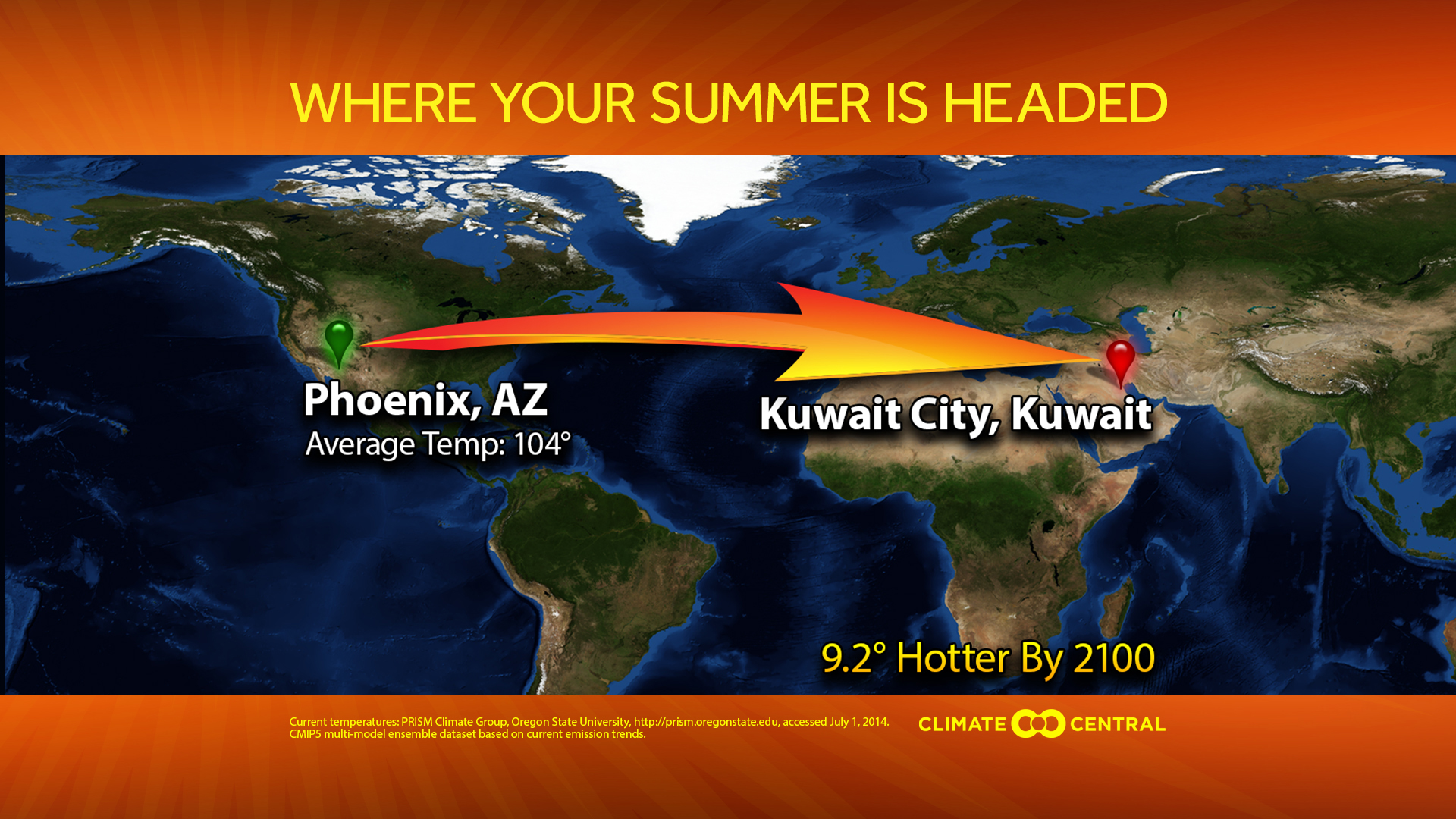 Where is your summer headed